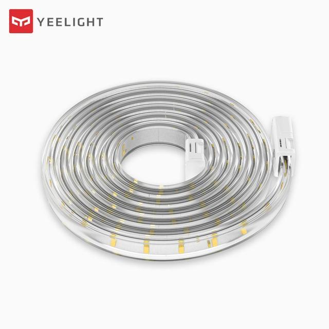 Comprimento feito sob encomenda yeelight led smart light strip extensível branco & versão quente funciona com o assistente da casa do google