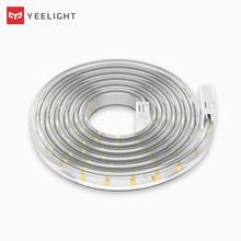 Özel yapılmış uzunluk Yeelight LED akıllı şerit uzatılabilir beyaz ve sıcak sürüm ile çalışır Google ev asistanı
