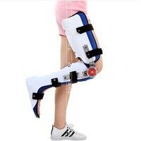 Нога лодыжка колено Ортез на ногу HKAFO перелом ортопедические похищения ортопедические спецодежда медицинская бедра брекеты нижние конечн
