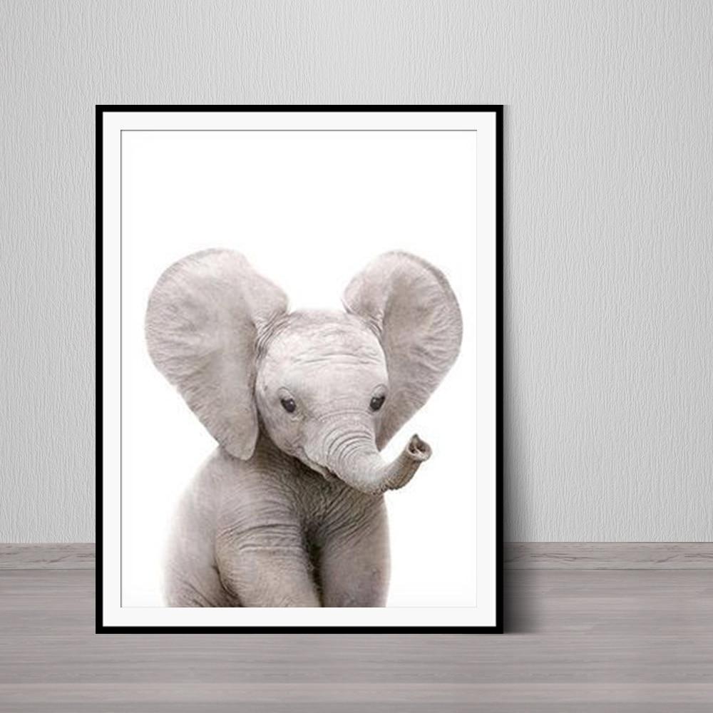 Nursery Wall Art Baby Animal Prints