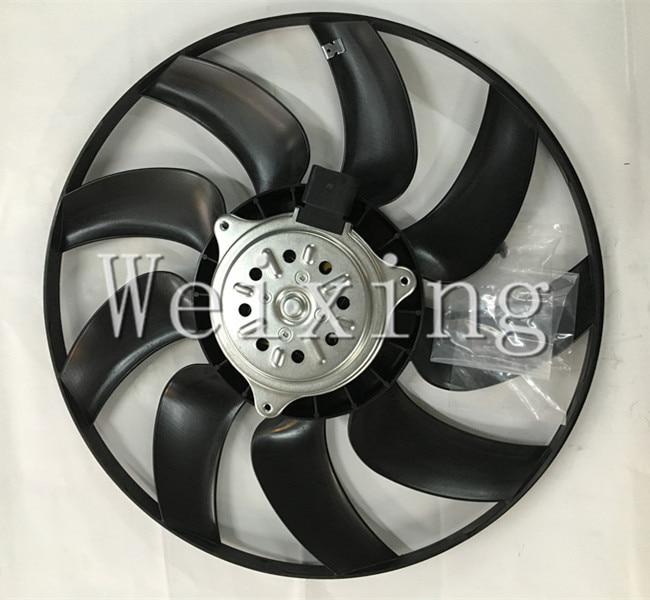ФОТО Auto electric Radiator fan for Audi A4 A6 Q5 8K0959455Q Big 2007