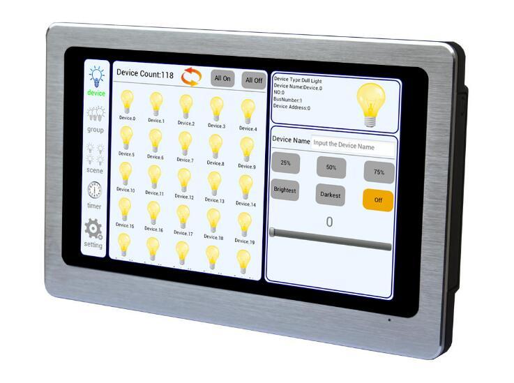 DL103 DALI Touch Screen Control