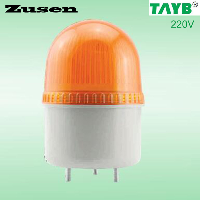Zusen TB72D yellow led small Storbe light Warning Light(TB72D-Y-220V)