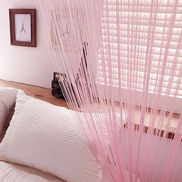 String Tassel Panel Curtain Room Divider Door Hanging 1m x 2m Window ...