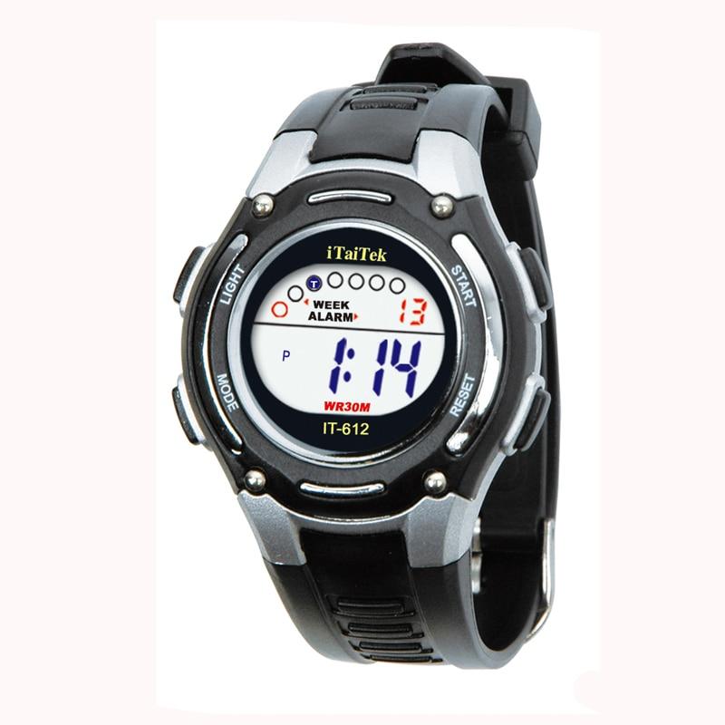 Multifunction Chidren Digital Watches Boys Girls Child Rubber Sports Electronic Wrist Watch Kids LED Date Clock Reloj *A
