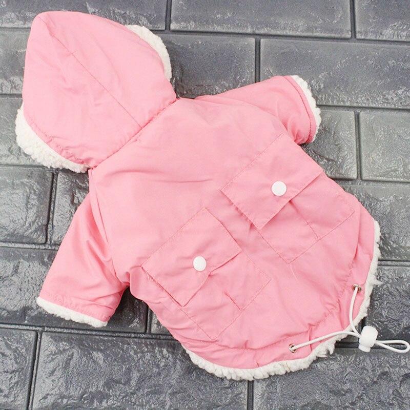 Inverno I Vestiti Del Cane Per Cani di Piccola Taglia Caldo Cane di Animale Domestico di Imbottiture Parka Abbigliamento Per Il Francese Bulldog Pug Vestiti di Inverno Chihuahua Cappotti 20Q