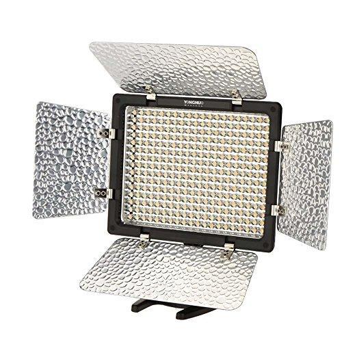 YONGNUO YN - 300III YN 300 III 3200K - 5500K video camera shooting LED light накамерный свет yongnuo led yn 160 iii 3200 5500k