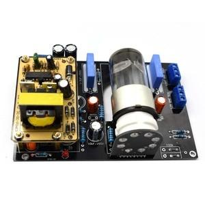 Image 5 - Lusya Amplificador de tubo de vacío, 6N8P(6H8C 6SN7) de Audio para coche DC12V, placa HiFi, preamplificadora B1 005
