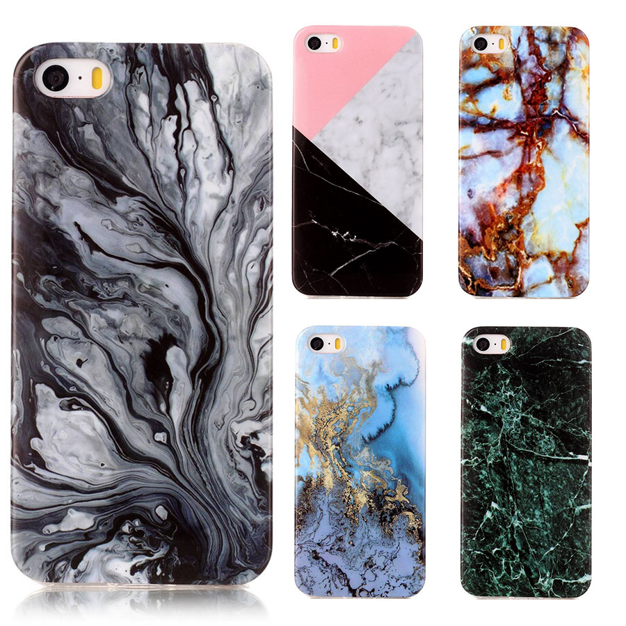 iphone case that prints pictures 3d printing cover for iphone 5s 5 se silicon marble 6270