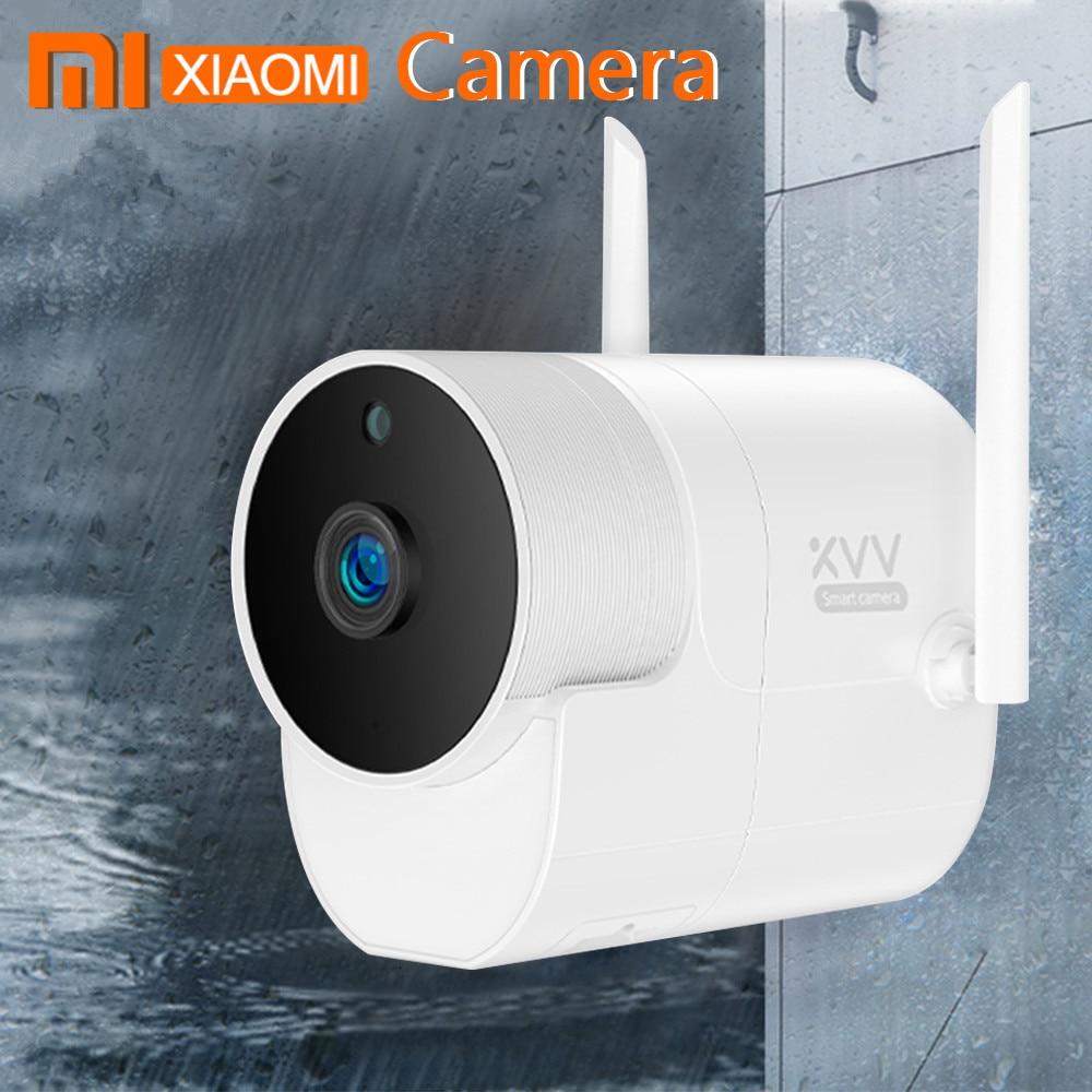 Caméra panoramique extérieure Xiaomi Xiaovv 360 caméra de Surveillance IP 1080P WIFI sans fil vision nocturne haute définition avec l'application Mijia-in Caméra vidéo 360° from Electronique    1