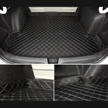 Car Trunk Mats for Mercedes Benz ML 350 320 w164 w166 w163 amg 2008-2011 Accessories Cargo Liner Boot Carpet
