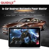 QUIDUX Автомобильный подголовник монитор дюймов 10,2 дюймов ультра тонкий задний подвесной, автомобильная развлекательная система, USB, HDMI аудио/