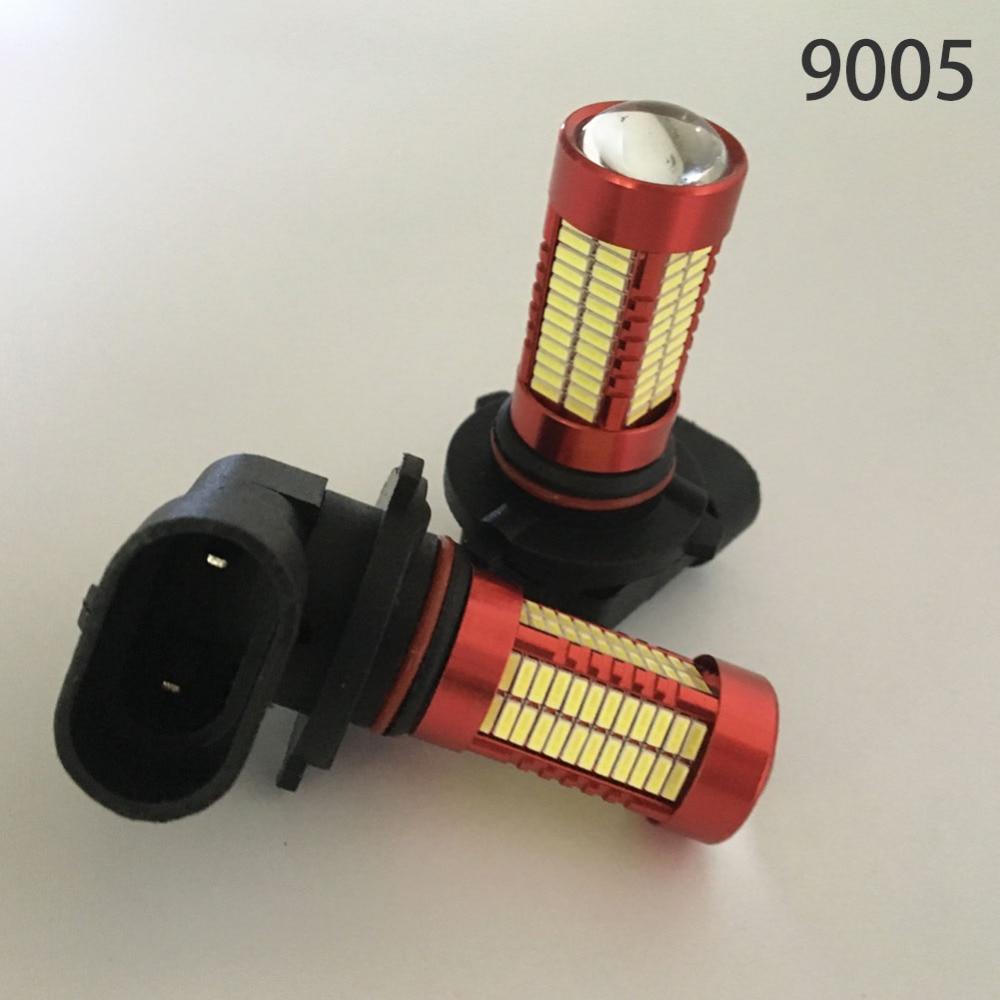 Satu Set H7 LED H11 9005 9006 Mobil Fog Light Bulb 6500 k Putih Lampu - Lampu mobil - Foto 6