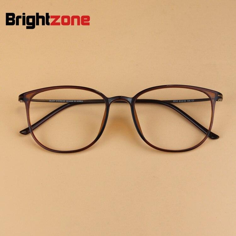 2016 homens Da Marca Do Vintage Geek Aço Carbono Ultra-leve Óculos de  Armação Miopia Das Mulheres Super Grande Nerd Quadro Decorativo óculos de3a291617