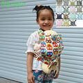 [Sigzagor] 1 Baby Doll Carrier Mei Tai Sling Toy For Kids Children Toddler Gift Front Back,Owl,Flower,Kaleidoscope,15 Choices