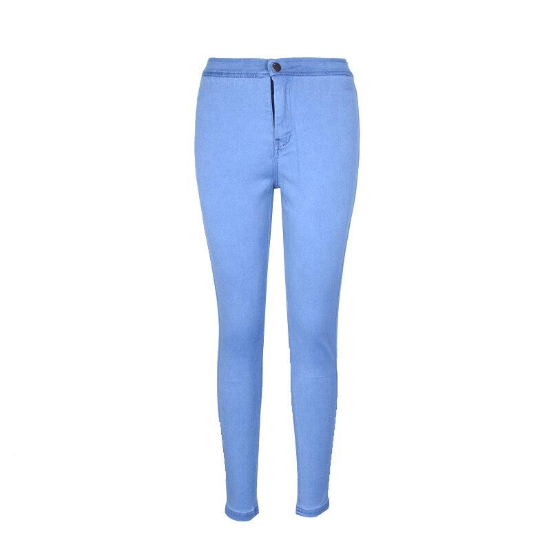 High Waisted Jeans Skinny Fashionnova Woman Pencil Pants Raise The Hip Cotton High Elasticity Jeans Woman