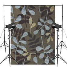 Blue Brown Pattern Photography Background Print Cloth Photo Backdrops Photo Studio Props 5x7ft Wall Photography Background цены онлайн