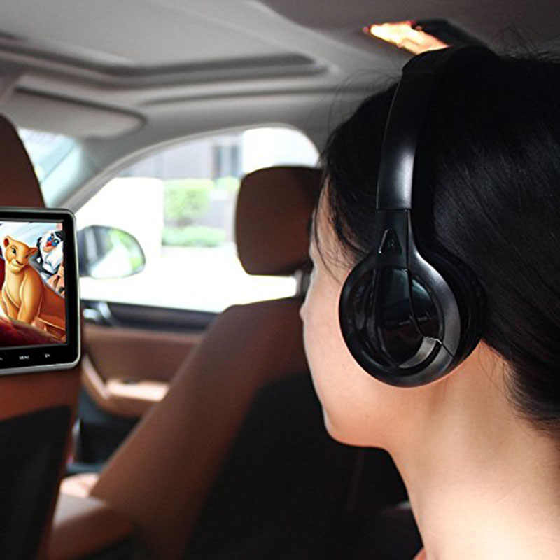 Free Shipping Infrared Stereo Wireless Headphones Headset Ir In Car Roof Dvd Or Headrest Dvd Player Two Channels Headphones Headset Stereo Wireless Headphoneswireless Headphones Aliexpress