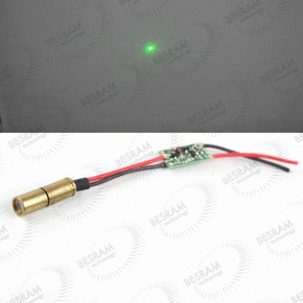 все цены на Dia. 6.5mm 532nm Green 5mW-10mW DOT Laser Module Diode Lazer for Laser Scope 3VDC