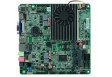 Haswell_U/I3-4010U/4005U Thin Mini ITX Mainboard For All In One PC Support 1*VGA,2HDMI,1*LVDS