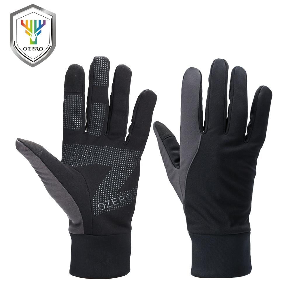 OZERO Running Gloves Touch Screen Gloves Sports Winter Outdoor Warm Windproof Waterproof Below Driver Gloves For Men Women 9010