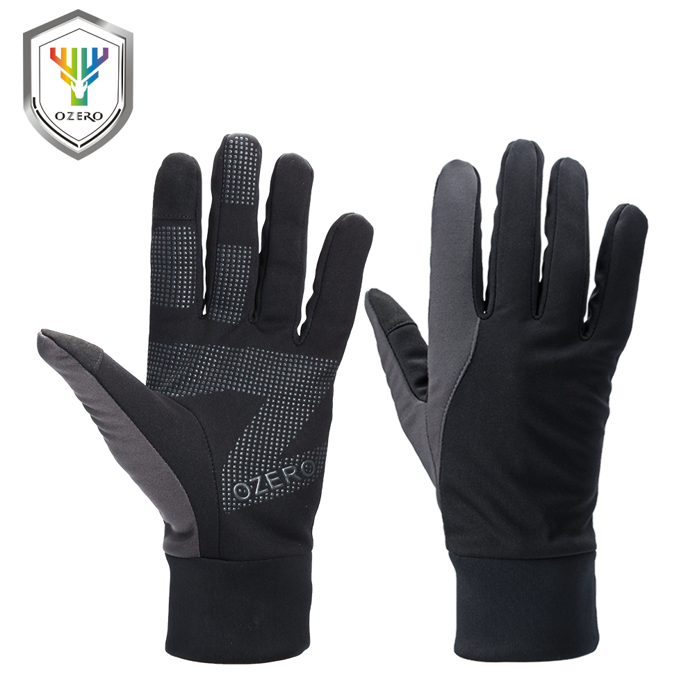 OZERO Running Gloves Touch Screen Gloves Sports Winter Outdoor Warm Windproof Waterproof Below Driver Gloves For Men Women 9010