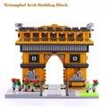 1626 UNIDS Bloques De Construcción Modelo de Francia Arco Del Triunfo Arquitecturas Modelos Unisex Plástico Bloques de Diamantes Regalos de Cumpleaños Kits YZ055