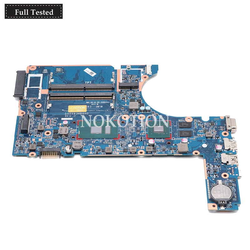 NOKOTION DA0X83MB6H0 805696-001 805696-002 907714-601 907714-001 Laptop motherboard For HP <font><b>450</b></font> G4 470 G4 Mainboard i5-7200u image