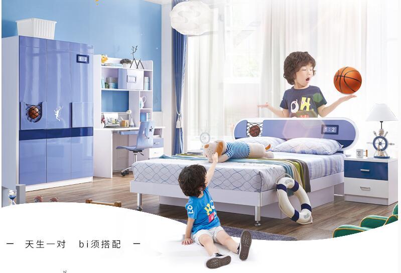 2017 Real Kids Table Table And Chair Child Desk Loft Bed Set Wood Kindergarten Furniture Camas Lit Enfants Childrens Bunk Beds