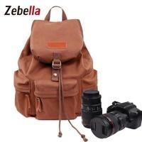 Zebella Women Camera Backpack Waterproof