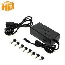 Adaptador universal da fonte de alimentação AC95 265V entrada para dc12v/15v/16/18v/19v/20v/24v transformadores da saída com 8 partes conectores dc