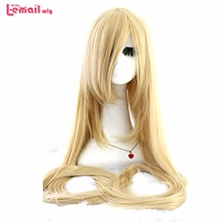 60inch-150cm-Long-Straight-Beige-Blonde-Synthetic-Hair-Tangled-Rapunzel-Perucas-Cosplay-Wig