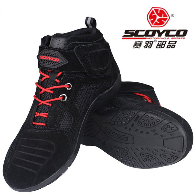 Motorcycle Racing Boots SCOYCO MBT021 Off-road shoes Moto men Motocross Motorbike Riding boots Shoes sports Shoes motorcycle riding shoes men s waterproof spring anti falling knights boots cross country racing shoes road locomotive boots