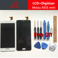Meizu M3S Mini LCD Display 5 0inch Touch Screen Tools 100 New HD Digitizer Assembly Replacement