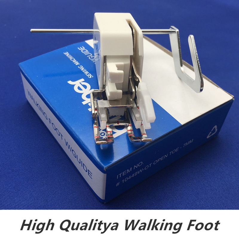 Walking Foot Feet Low Shank Even Feed With Quilting Quilt Guide Brother SA140