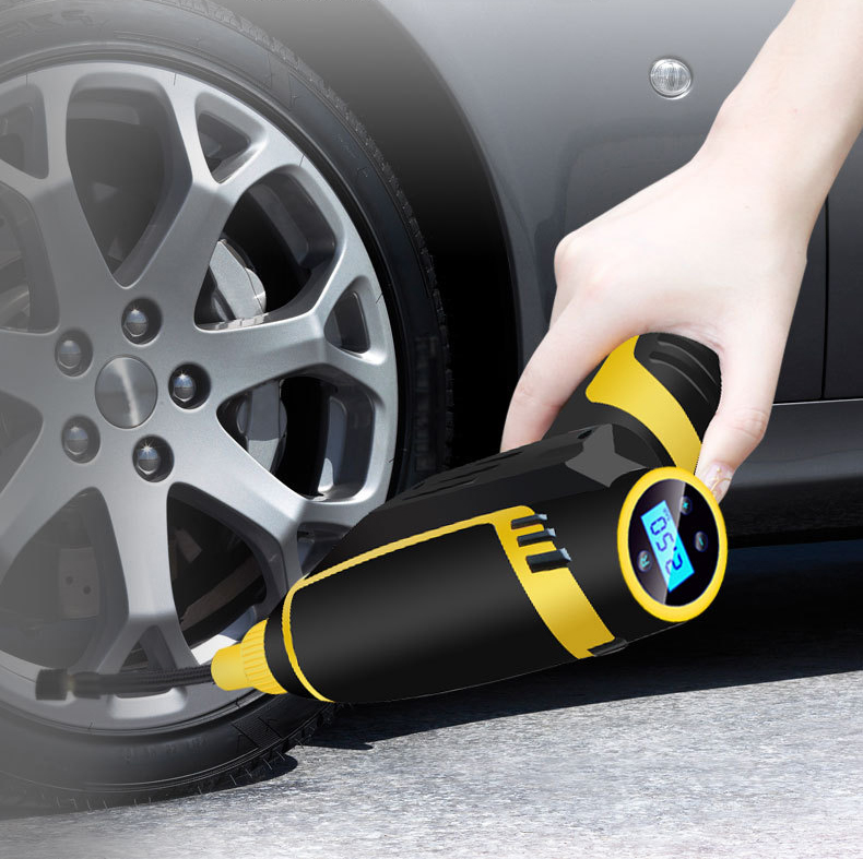 Charging Vehicle Inflatable Pump  Air pump for automobiles  Electric portable tire filling pump  On-board air pump for automobilCharging Vehicle Inflatable Pump  Air pump for automobiles  Electric portable tire filling pump  On-board air pump for automobil