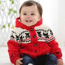 Warm Outerwear baby cloth