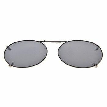 bdc0d63da C76 Eyekepper gris/marrón/G15 Lens 3-pack Clip-Clip en gafas de sol  polarizadas 51x33mm