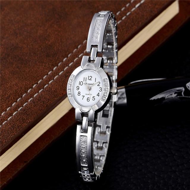 Hodinky Luxury Women Bracelet Watch Famous Brands Gold Silver Fashion Watches La