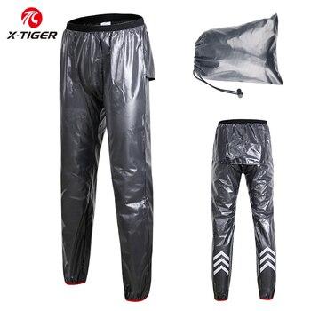 X-TIGER Waterproof Cycling Rain Pants Quick-Dry MTB Bike Cycling Outdoor Sports Multi-use Running Hiking Camping Fishing Biking