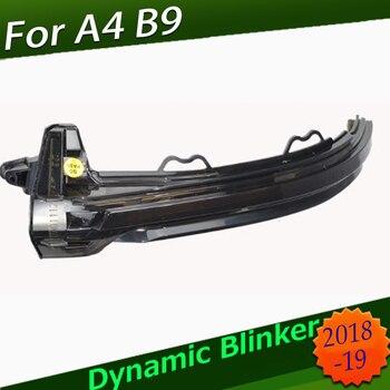 Dynamic Blinker LED Turn Signal blink Side Mirror Lights for Audi A4 A5 B9 S4 S5 RS5 2017 2018 2019