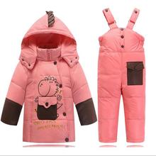 Kids clothes Baby Boys Girls Winter Jacket Down Warm Coats Children Child Snowsuit Sound Outerwear Jacket