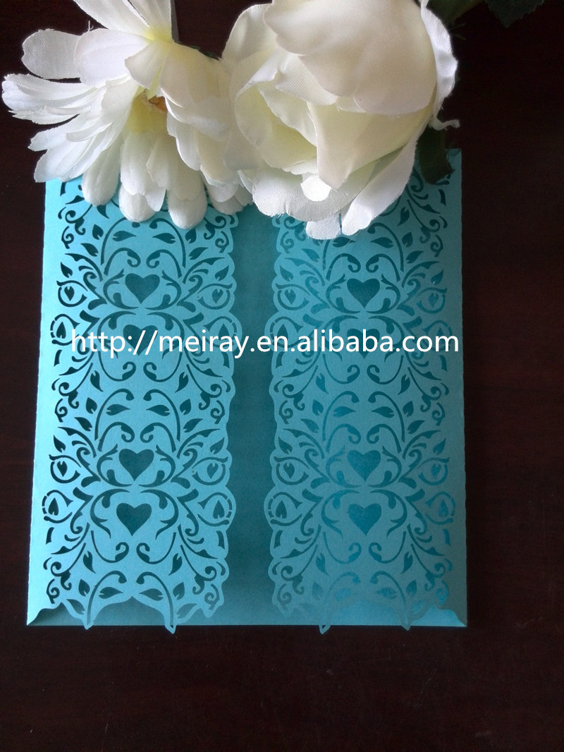 2017 Sle Elegant Personalized Wedding Cards Laser Cut Folded Finger Ring Pattern Invitation Exles Of Invitations