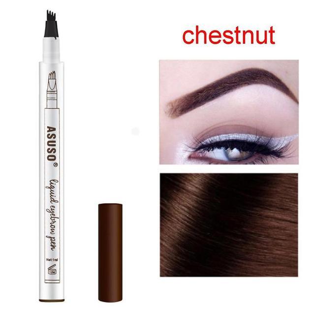 3 Colors Microblading Eyebrow Tattoo Pen Waterproof Tattoo Durable Eye Brow Pencil Smudge-proof Fine Sketch Liquid Eyebrow Pen 1