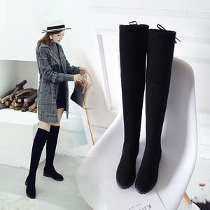 QIAOJINGREN Female Winter Women Shoes 2018 Black