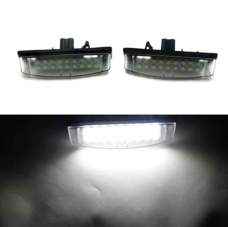 Голубой залив почвы 2шт 6000K светодиодные номерного знака свет лампы для Тойота Камри/Аурион для Лексус IS200 RX300