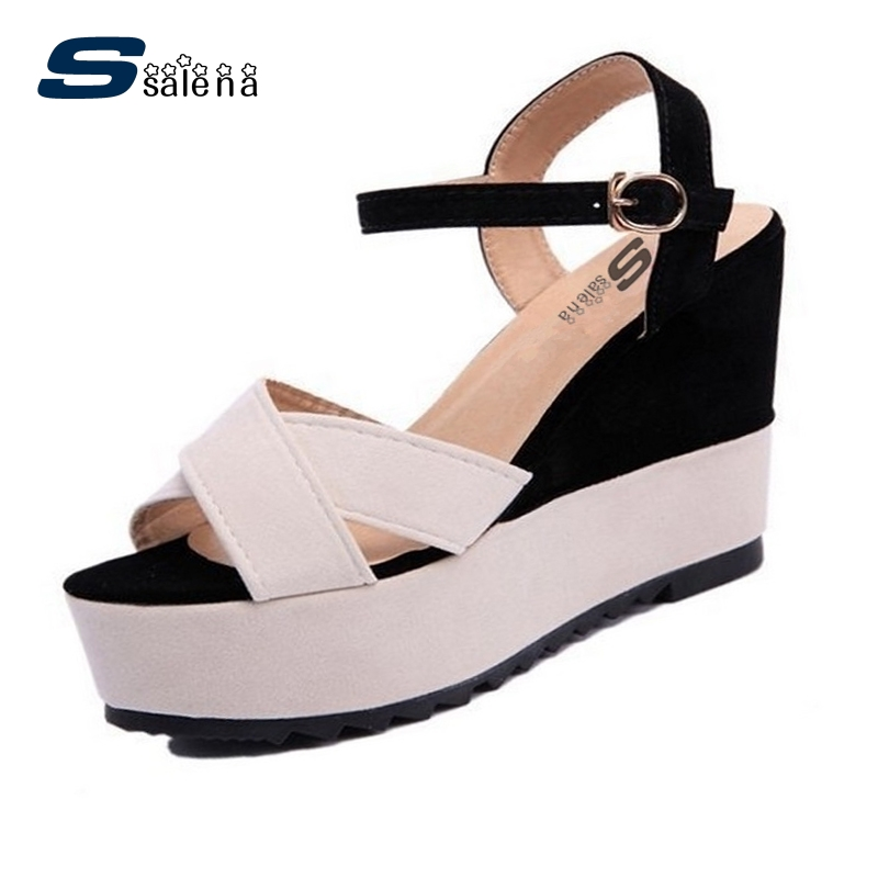 Hot summer 2017 sandals women spell color fish head shoes for Fish head shoes