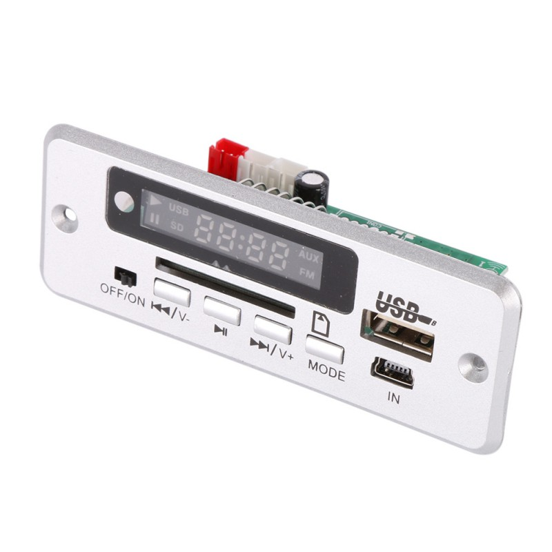 Board Red Digital Display  MP3 Decoder LED USB TF Wireless Communication Module Wireless Audio Module Car Remote Control
