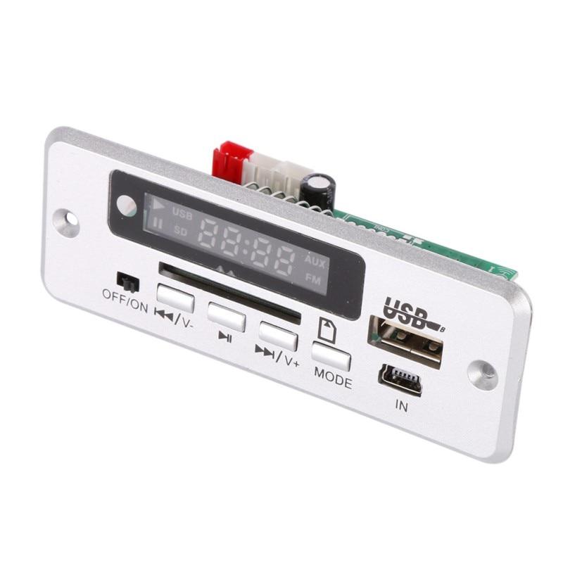 Board Red Digital Display  MP3 Decoder LED USB TF Wireless Communication Module Wireless Audio Module Car Remote Control