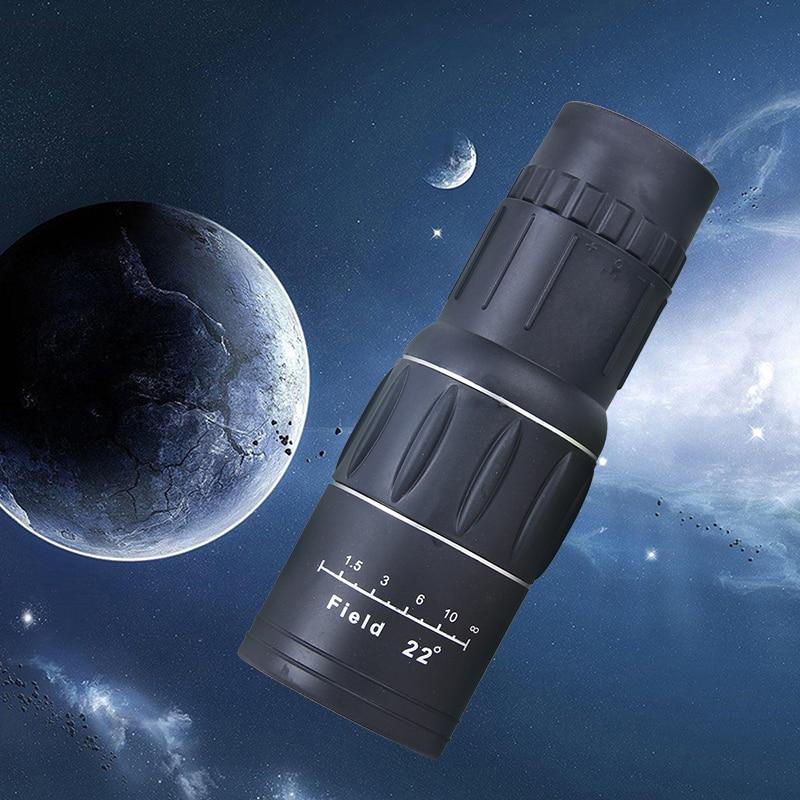 Telescópio monocular 10x40 66 m/1000 m viagem concerto ao ar livre filme verde hd monocular telescópio turismo binóculos